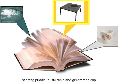 cup puddle table